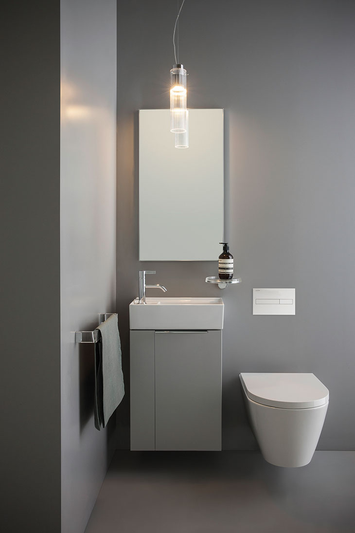 Kartell By Laufen Saphirkeramik.New Compact Options For Exceptional Bathroom Design
